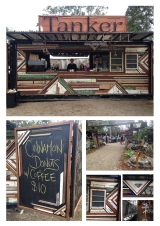 Shipping Container Cafe Build and Activation - Festivals